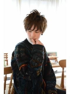 メンズ髪型9